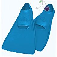Ласты для бассейна резиновые детские размеры 25-26 синие ПРОПЕРКЭРРИ (ProperCarry)