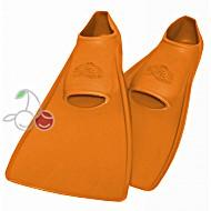 Ласты для бассейна резиновые детские размеры 27-28 оранжевые ПРОПЕРКЭРРИ (ProperCarry)