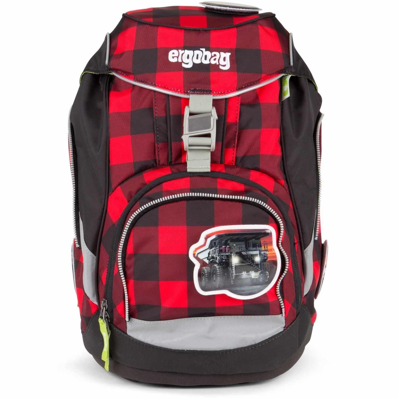 Рюкзак Ergobag LumBearjack с наполнением + светоотражатели в подарок, - фото 2
