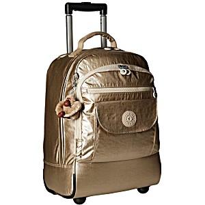 Рюкзак на колесах Kipling Sanaa GM цвет шампань