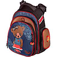 Рюкзаки для девочек Hummingbird TK32 Мишка с мешком для обуви