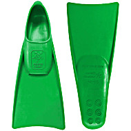Ласты для грудничкового плавания ProperCarry зеленые 23-24